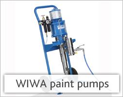 WIWA paint pumps
